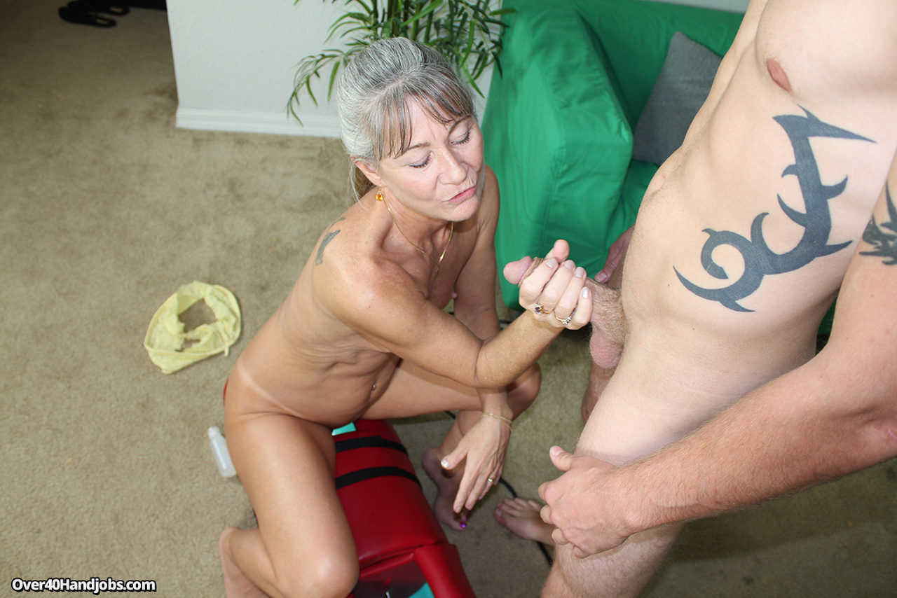 Milf big cock handjob think, you
