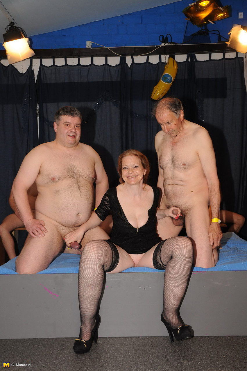 free mature gang bang