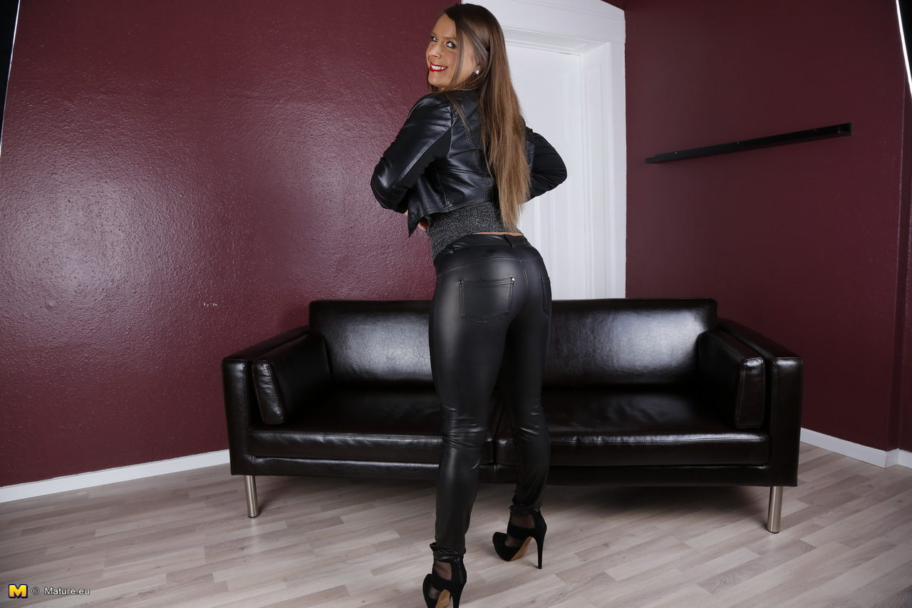 leather pants porn